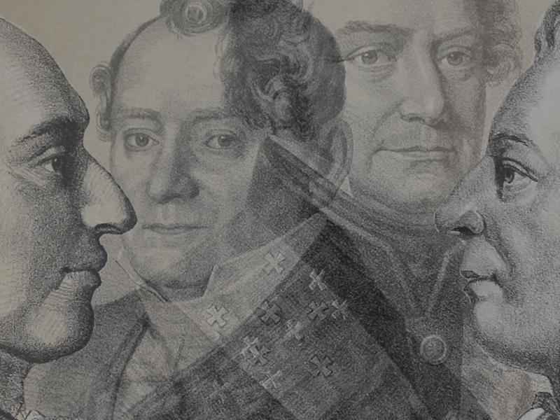 Kexel, Westerstrand, Hjortsberg och Bellman. Fyra bricolister som satt sin prägel på Par Bricoles historia.